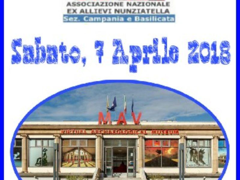 Visita al MAV di Ercolano – 7 Aprile 2018
