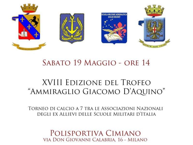 "XVIII Trofeo ""Ammiraglio D'Aquino"""