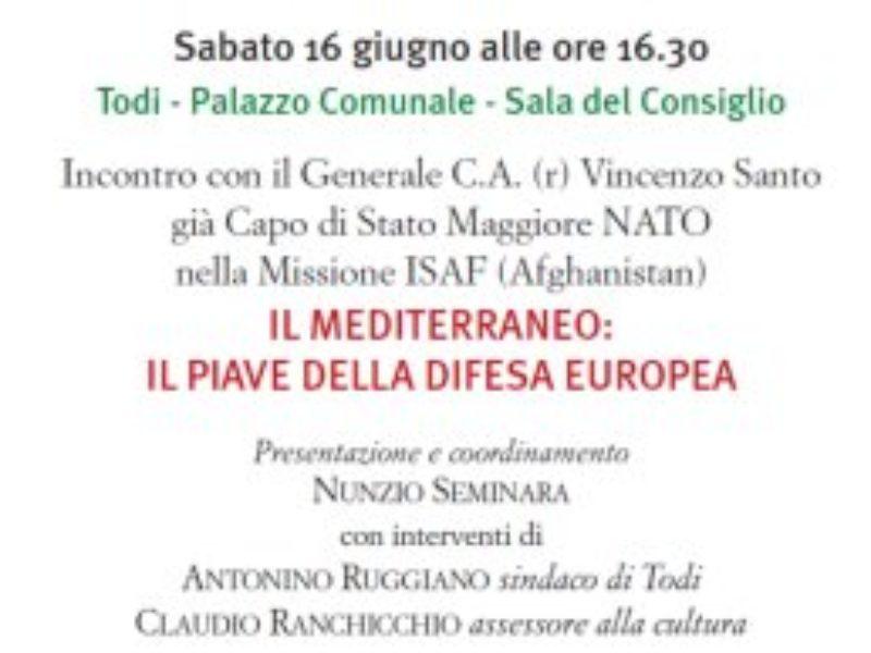 Il Mediterraneo: il Piave della Difesa Europea