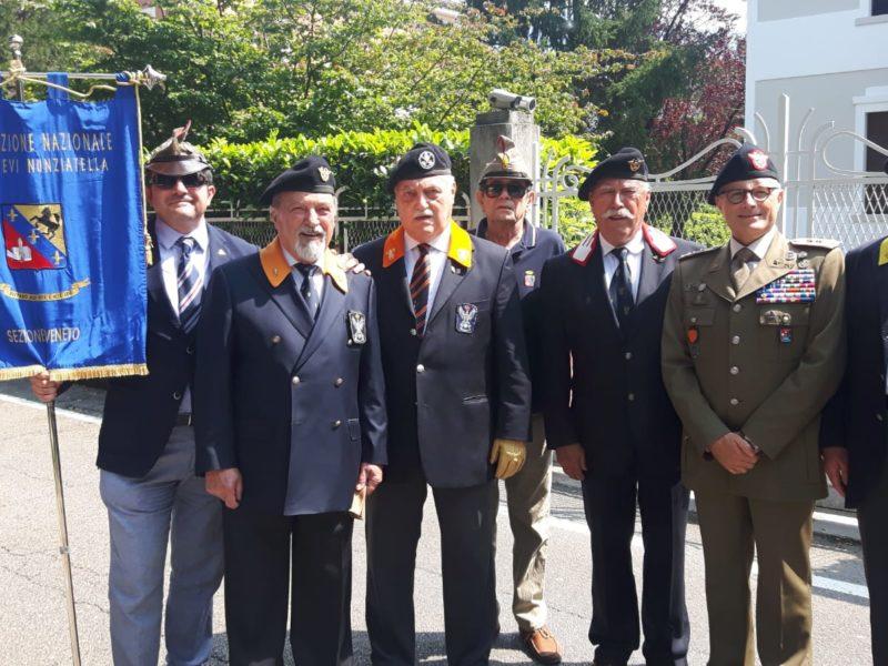 Vittorio Veneto 1 luglio 2018: la Sezione Veneto al Raduno Nazionale della Cavalleria – Boris Mascia 1986/89