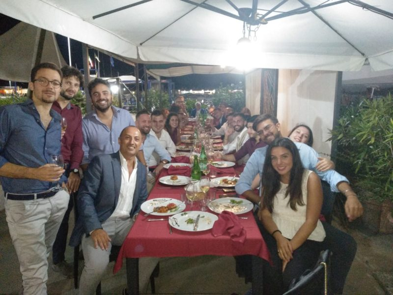 29 agosto – Cena Ex Allievi a Salerno