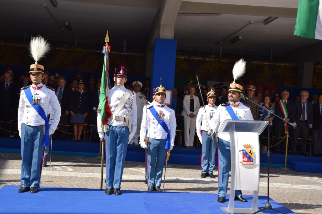 Cerimonia di Insediamento dell'80esimo Comandante della Scuola Militare Nunziatella di Napoli