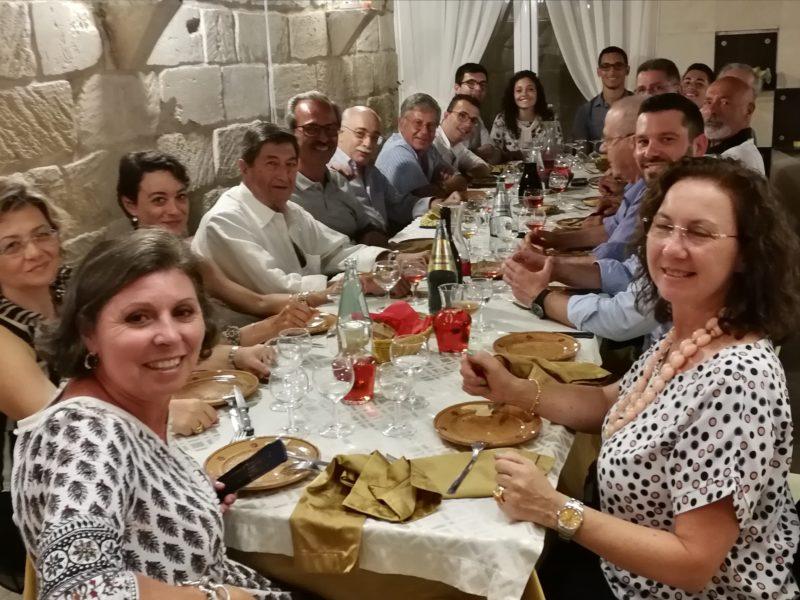 17 agosto 2018, riunione Ex Allievi nel Basso Salento