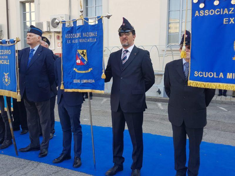 Cerimonia cambio del Comandante Scuola Militare Teulié