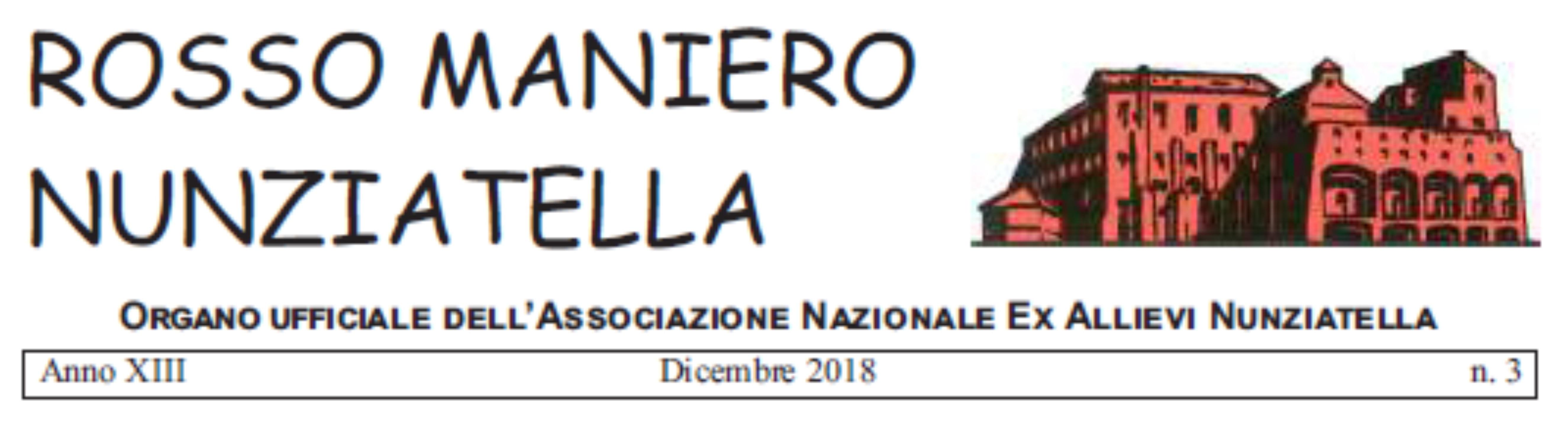 """Pubblicato il """"Rosso Maniero"""" del mese di dicembre"""