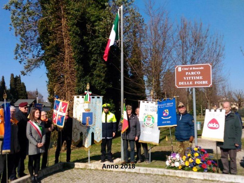 Roncade (TV) 9 febbraio 2019 : giorno del ricordo – Sezione Veneto