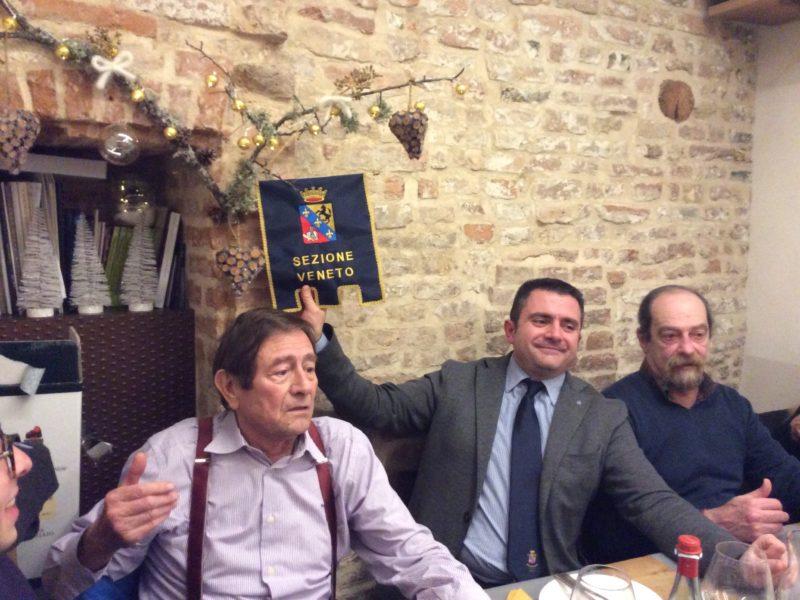 Treviso 20 dicembre 2018: tradizionale bicchierata natalizia a Treviso – Boris Mascia 1986/89