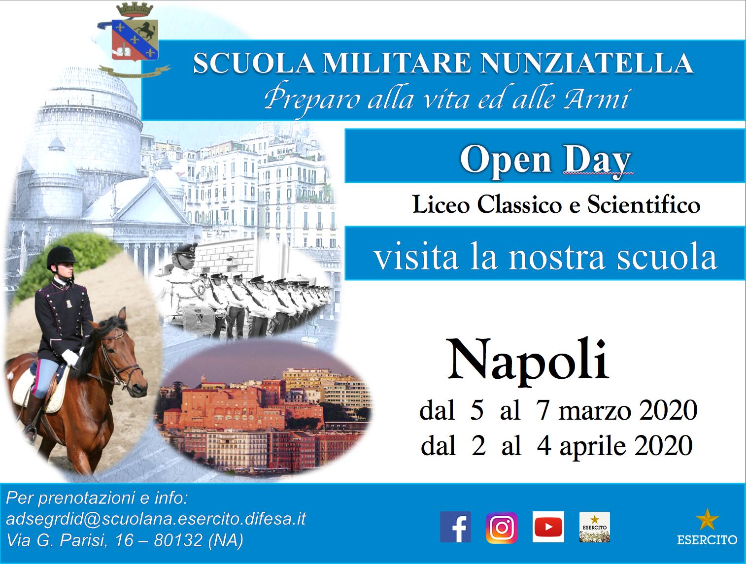 Pubblicate le date degli Open Day per l'anno 2020