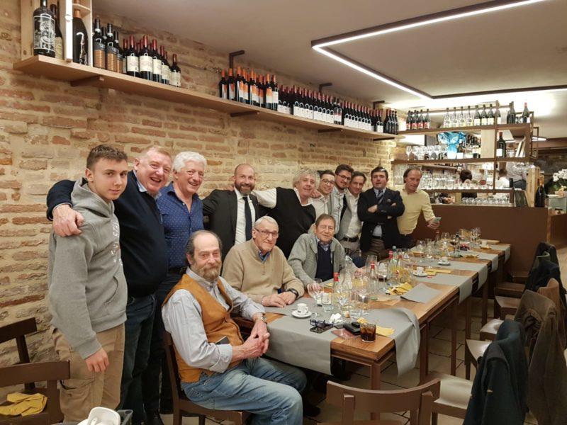 Treviso 18 aprile 2019: cena Ex Allievi per gli auguri pasquali
