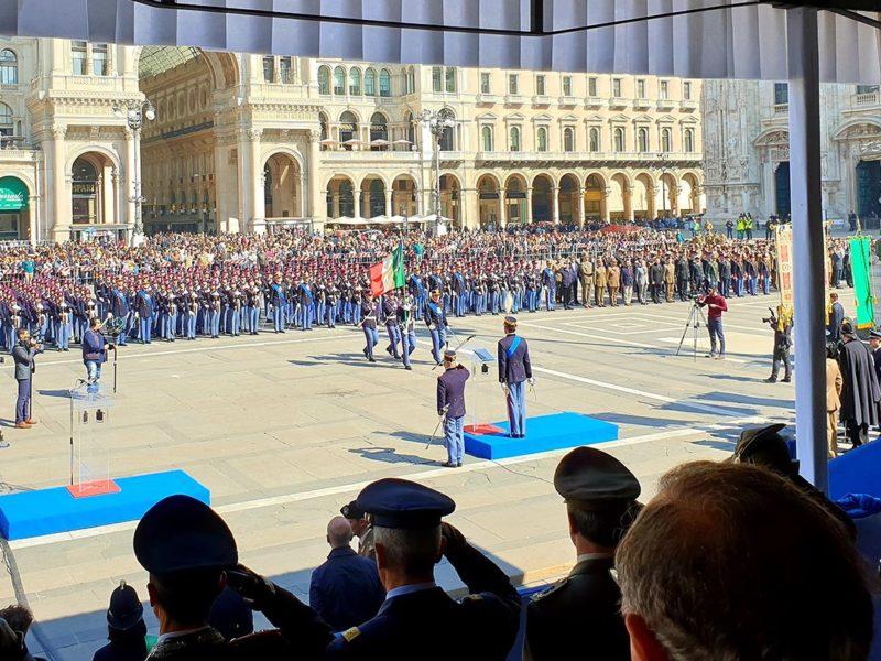 Cerimonia Giuramento della Scuola Militare Teuliè