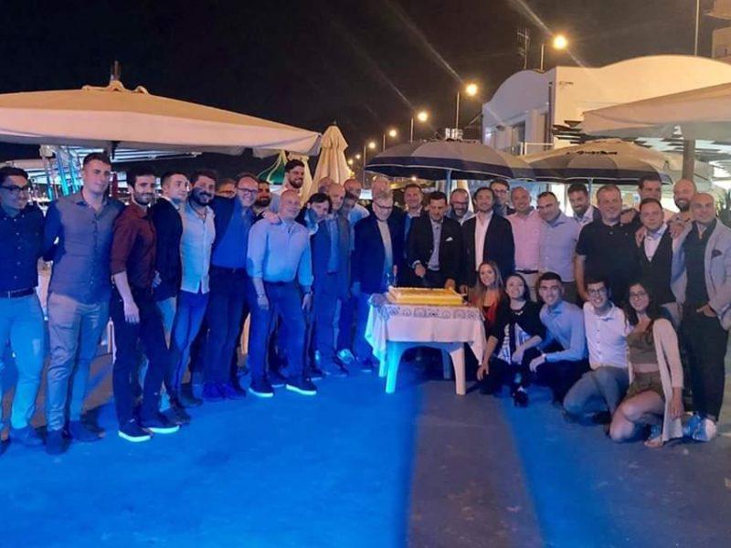 """Salerno sabato 8 giugno Lido """" La Conchiglia"""" cena ex allievi"""