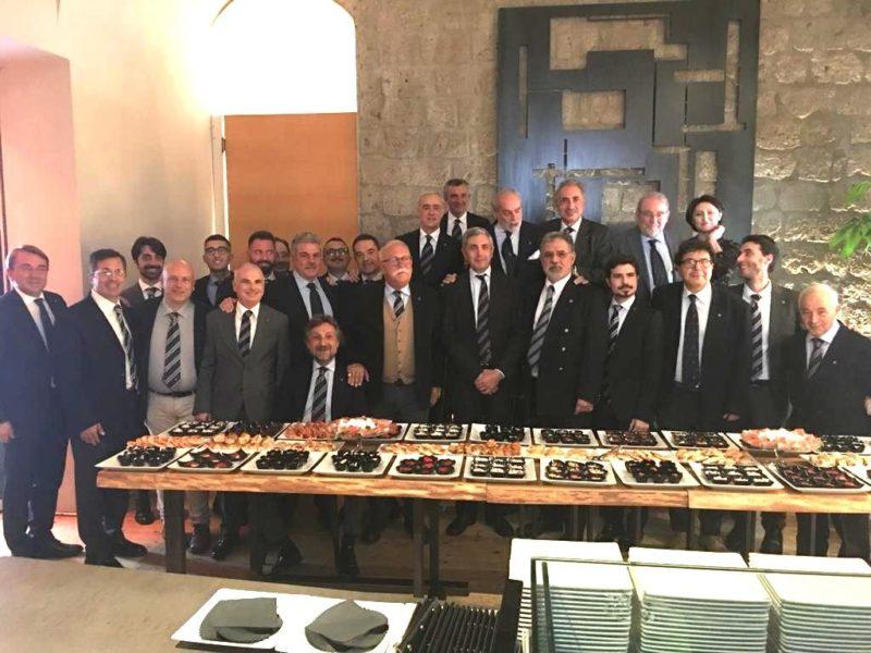 Gruppo Provincia di Caserta serata conviviale con l'Ambasciatore Sergio Piazzi (c 73/76)