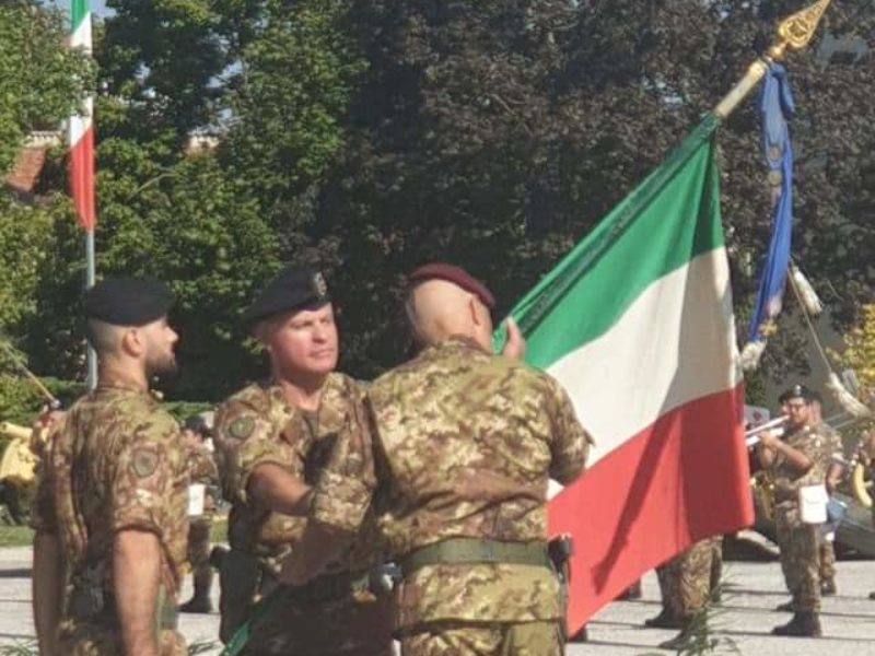 Udine 27 settembre 2019: cerimonia avvicendamento Riccardo Renganeschi 1982/85