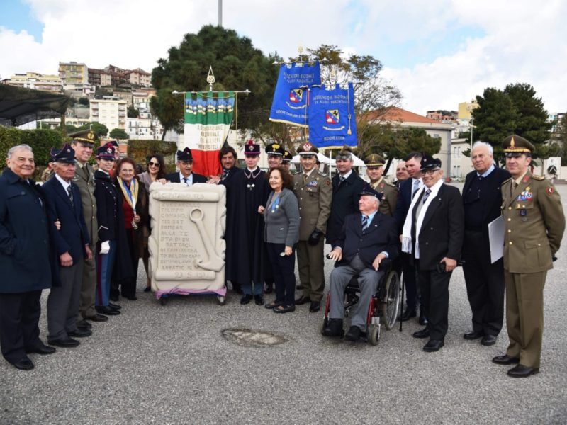 """La Sezione Campania e Basilicata a Messina per il 330^ Anniversario Fondazione 5 Reggimento Fanteria """"AOSTA"""""""