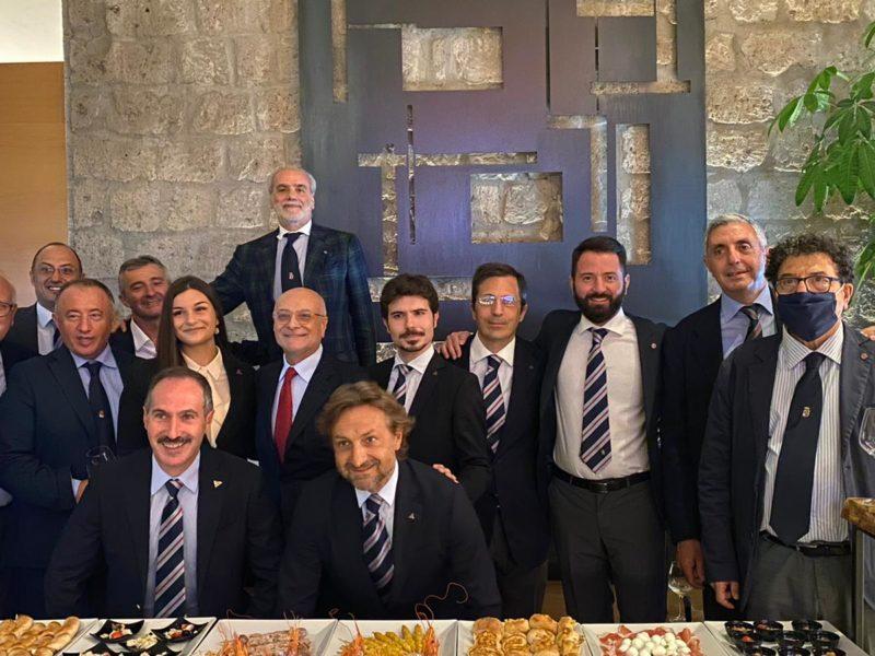 Caserta mercoledi 30 settembre ore 20.30 conviviale Gruppo di Caserta- Antonio D'Amato saluta gli ex allievi