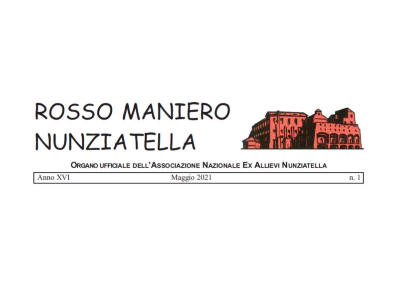"""Pubblicato il """"Rosso Maniero"""" n.1 del 2021"""
